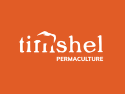 Timshelpermaculture logo orange